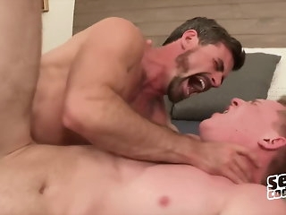 blowjob Daniel Barron Bareback - Happy-go-lucky Flick - Sean Cody twink